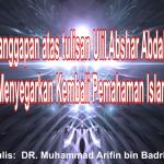 Bantahan untuk JIL dan Ulil Abshar Abdalla – Download PDF